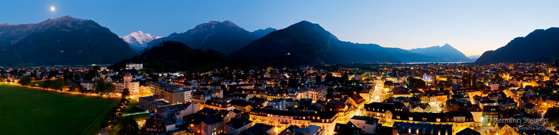 Abendstimmung in Interlaken