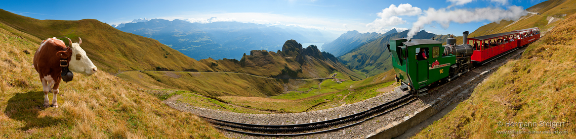 BRB Brienz-Rothorn-Bahn am Rothorn