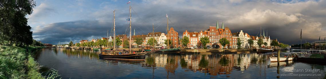 Rückkehr der Krik Vig in den Lübecker Museumshafen