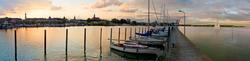Abendstimmung im Konstanzer Hafen