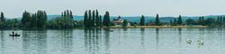 Blick auf das Kloster Reichenau