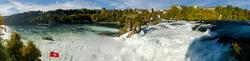 Blick auf den Rheinfall