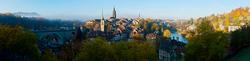 Blick auf die Berner Altstadt 1