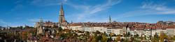 Blick auf die Berner Altstadt