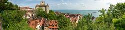 Blick auf die Burg von Meersburg