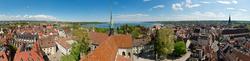 Blick vom Münster auf Konstanz