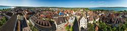 Blick vom Münster auf Radolfzell