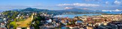 Luzern - Blick auf die Altstadt