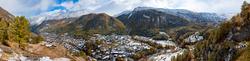 Neuschnee in Zermatt 1
