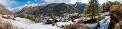 Neuschnee in Zermatt