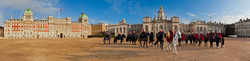 The Horse Guards Parade ground
