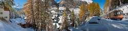 Winterstimmung in Zermatt 1